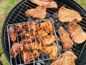 Food on grill you can eat with dental implants in the Lehigh Valley